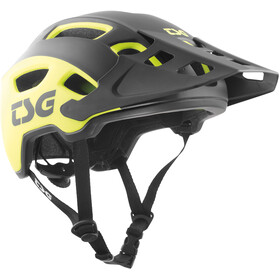 TSG Trailfox Graphic Design Helmet sides acid yellow-black